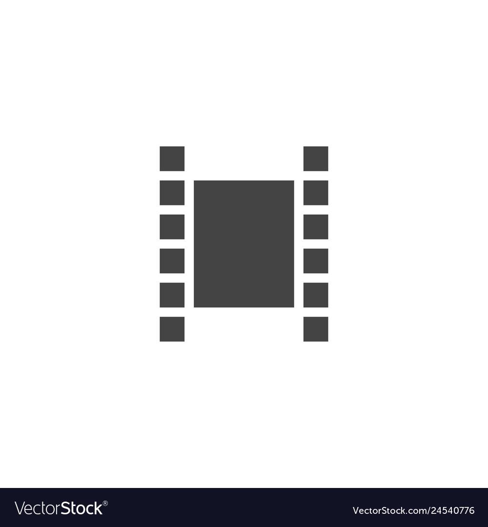 Filmstrip graphic design template