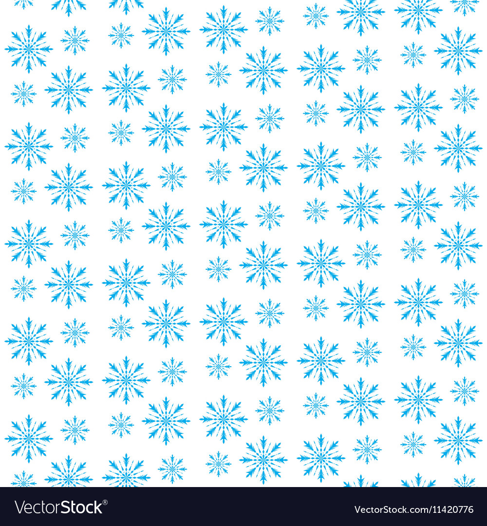 Snowflake seamless pattern Snowflake background