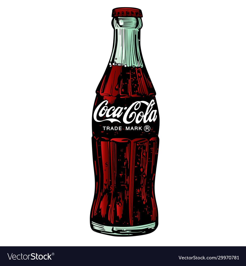 Coca Cola Drawing Vector Images 23