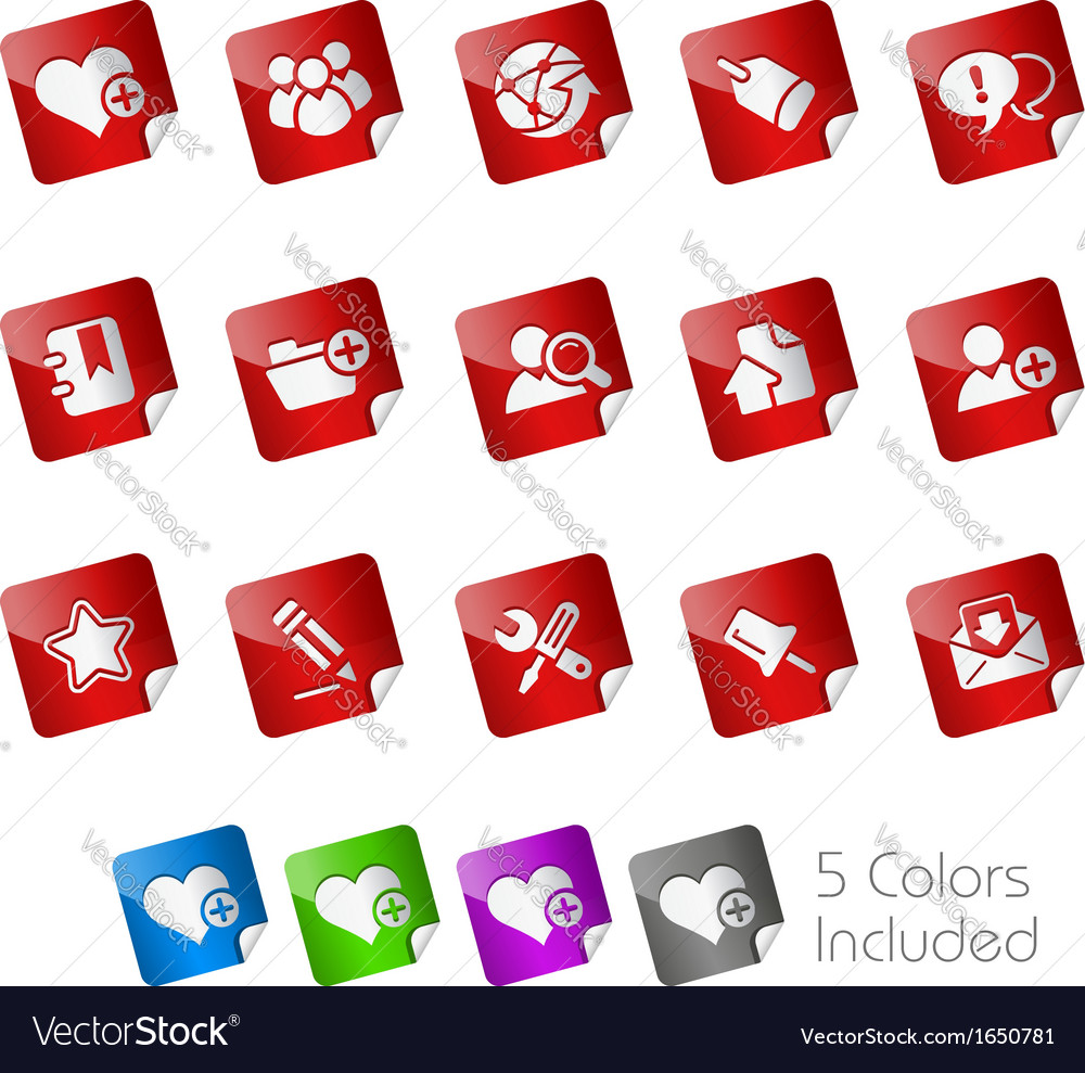 Internet Blog Stickers