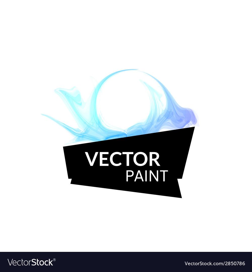 Abstract digital watercolor ink virtual technology