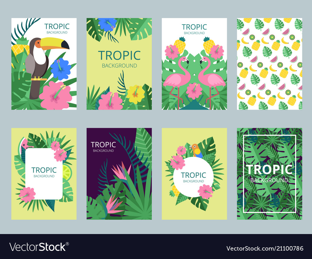 Design template of cards with of