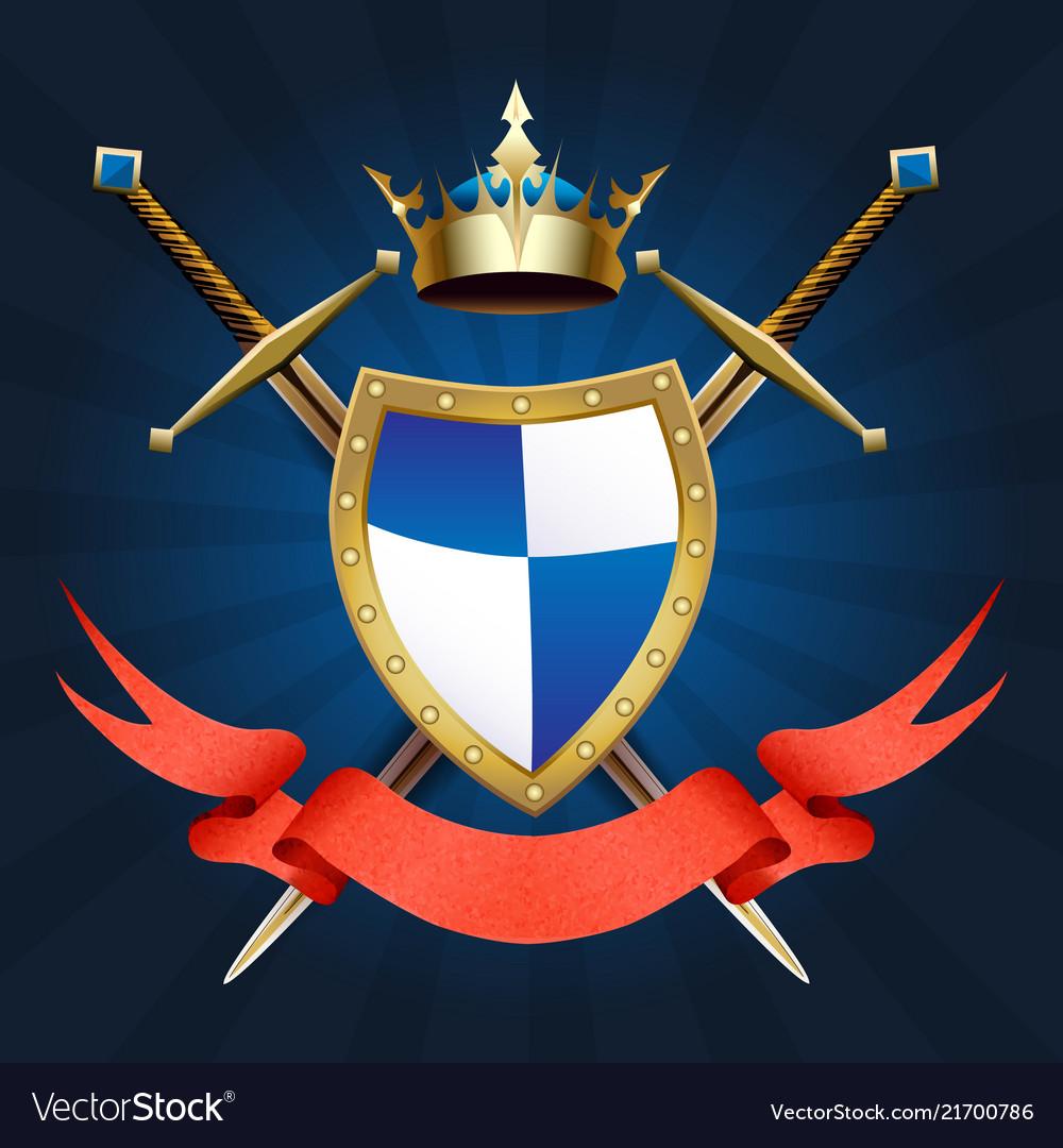 Knight coat arm
