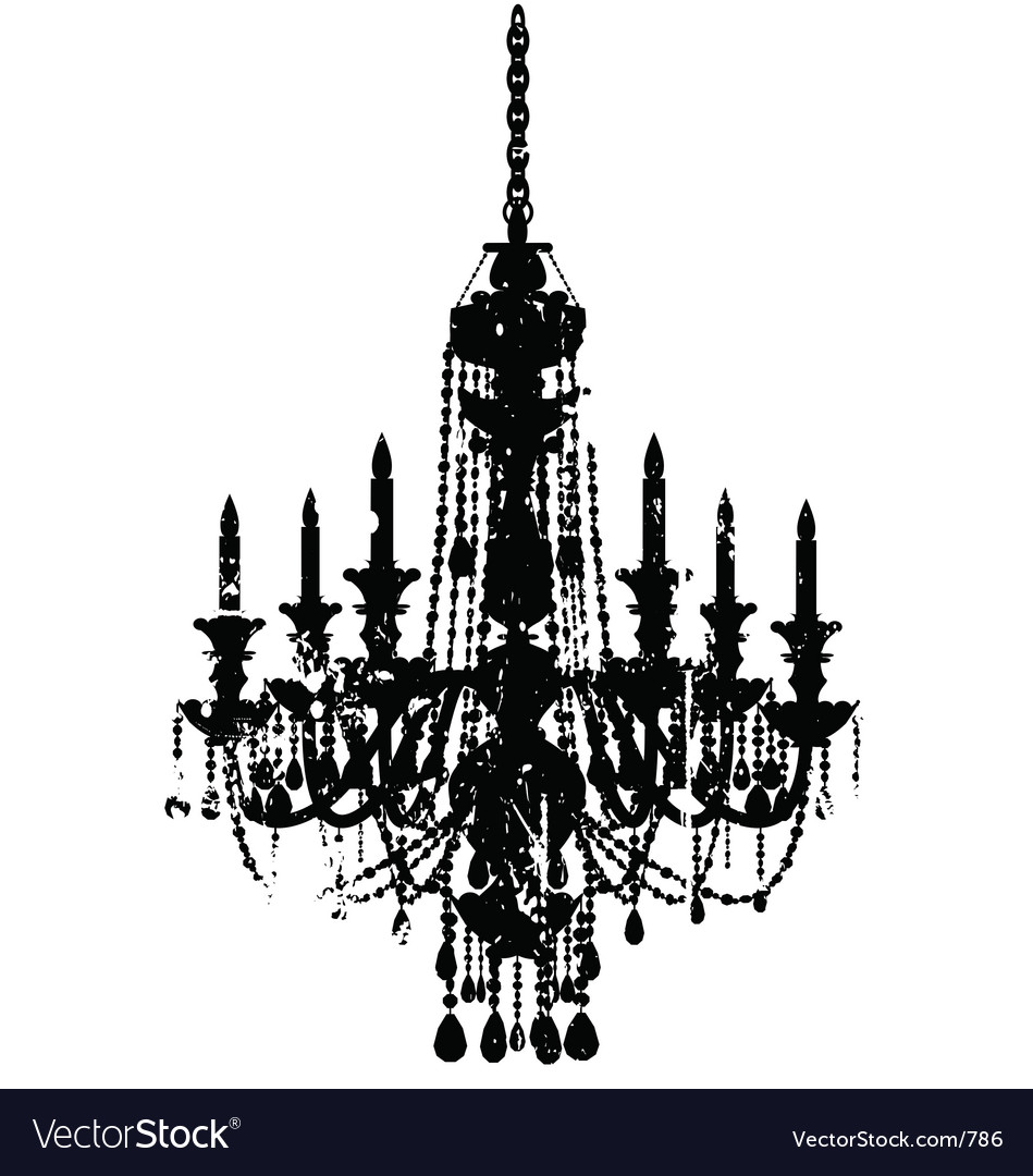 Vintage chandelier royalty free vector image vectorstock vintage chandelier vector image mozeypictures Choice Image