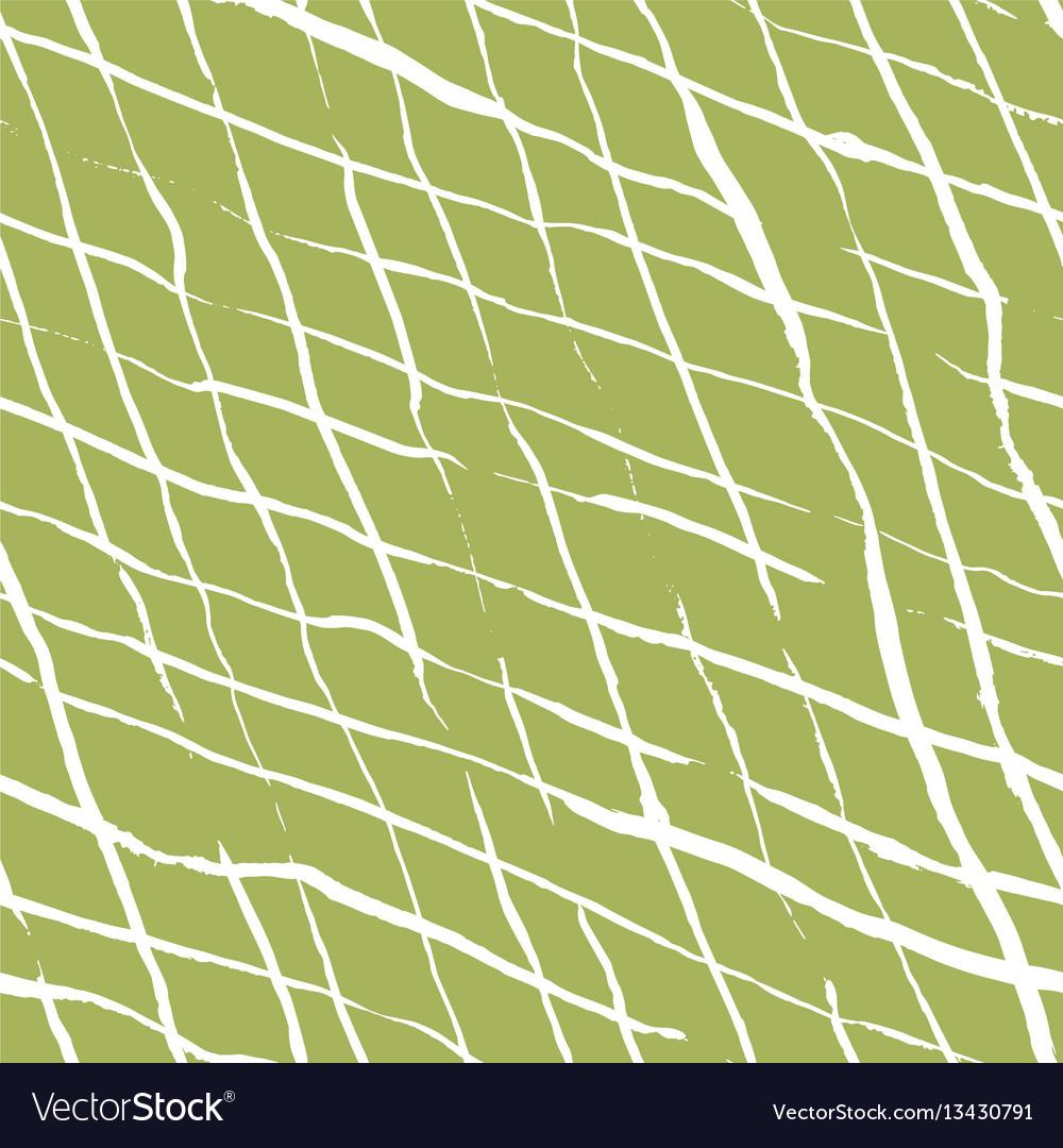 Hand drawn doodle rhombus seamless pattern
