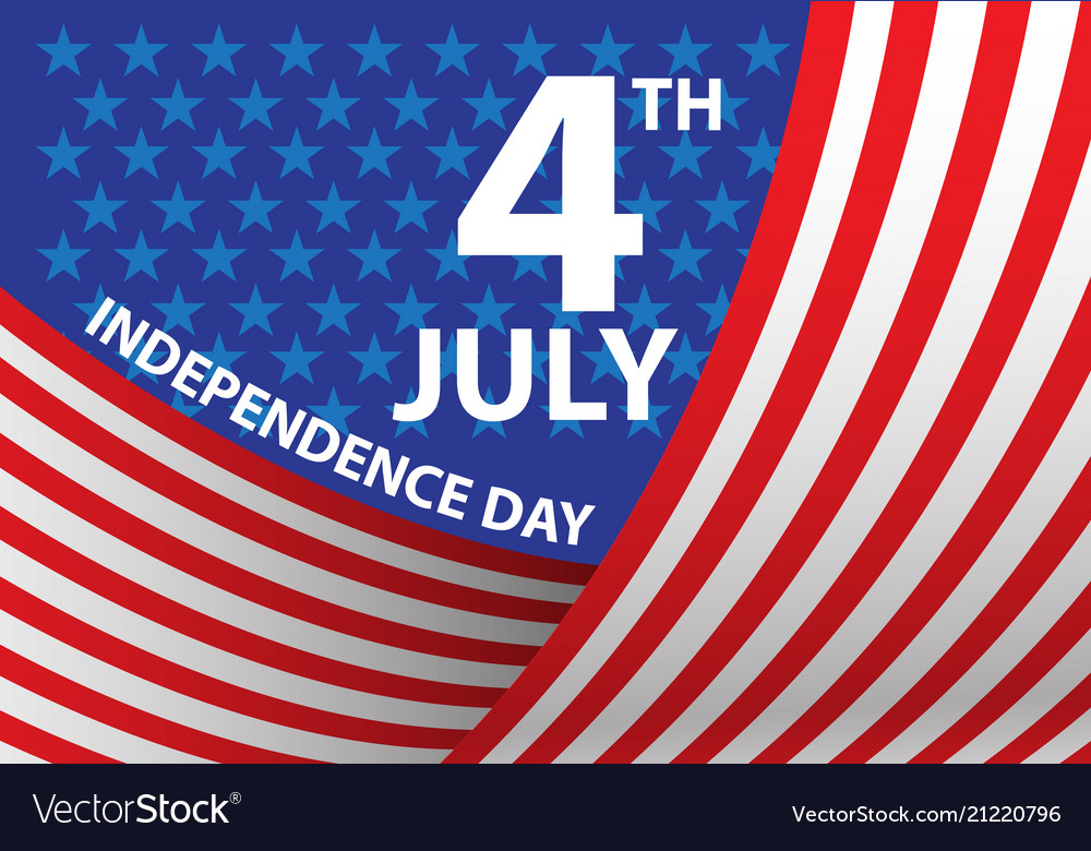 4th july independence day of the usa curve