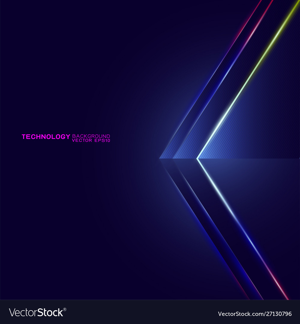 Abstract futuristic and technology concept