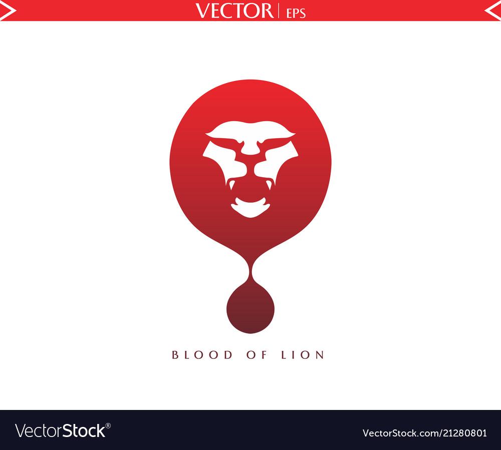 Blood of lion logo