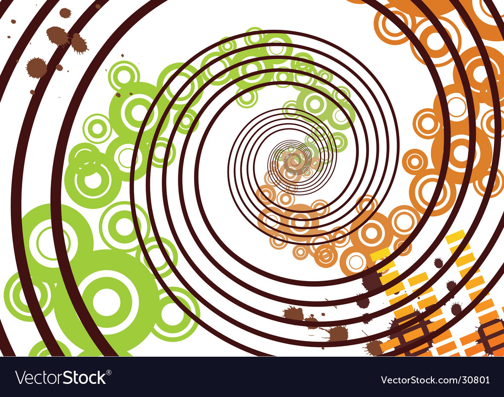 Grunge abstract background vector image