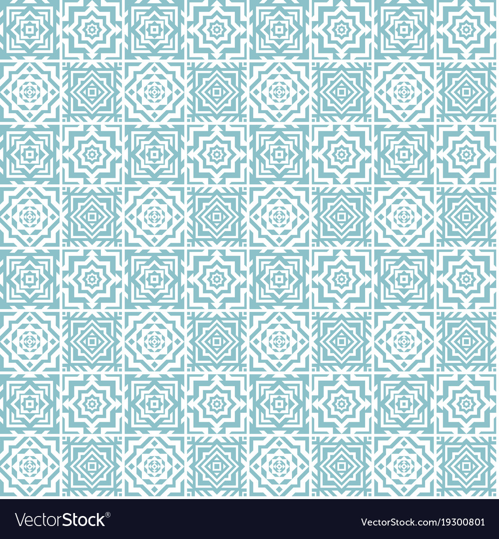 Seamless pattern of ceramic tile Royalty Free Vector Image