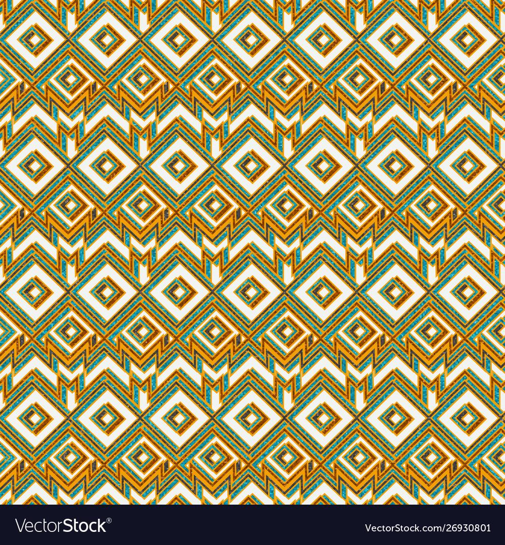 Vintage mosaic seamless pattern