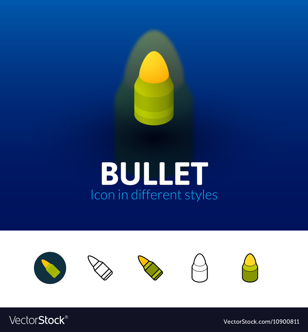 Bullet icon in different style