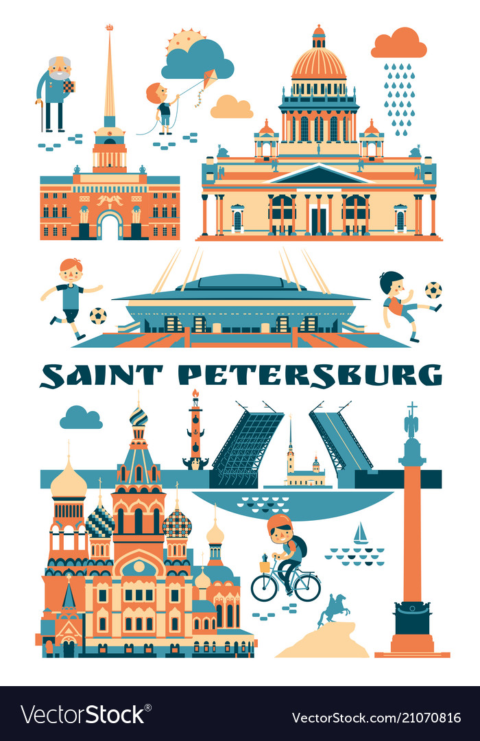 Saint-petersburg russia of