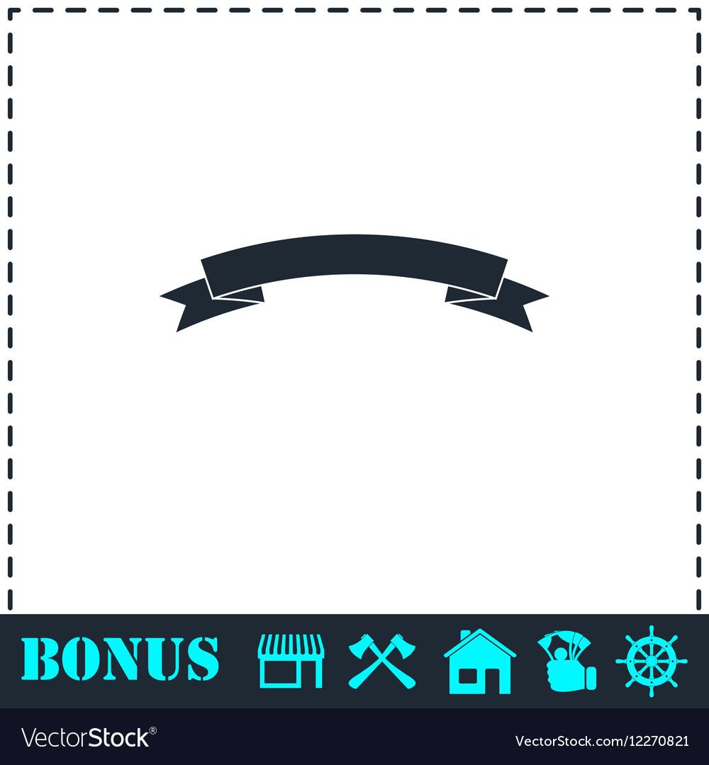 Banner icon flat