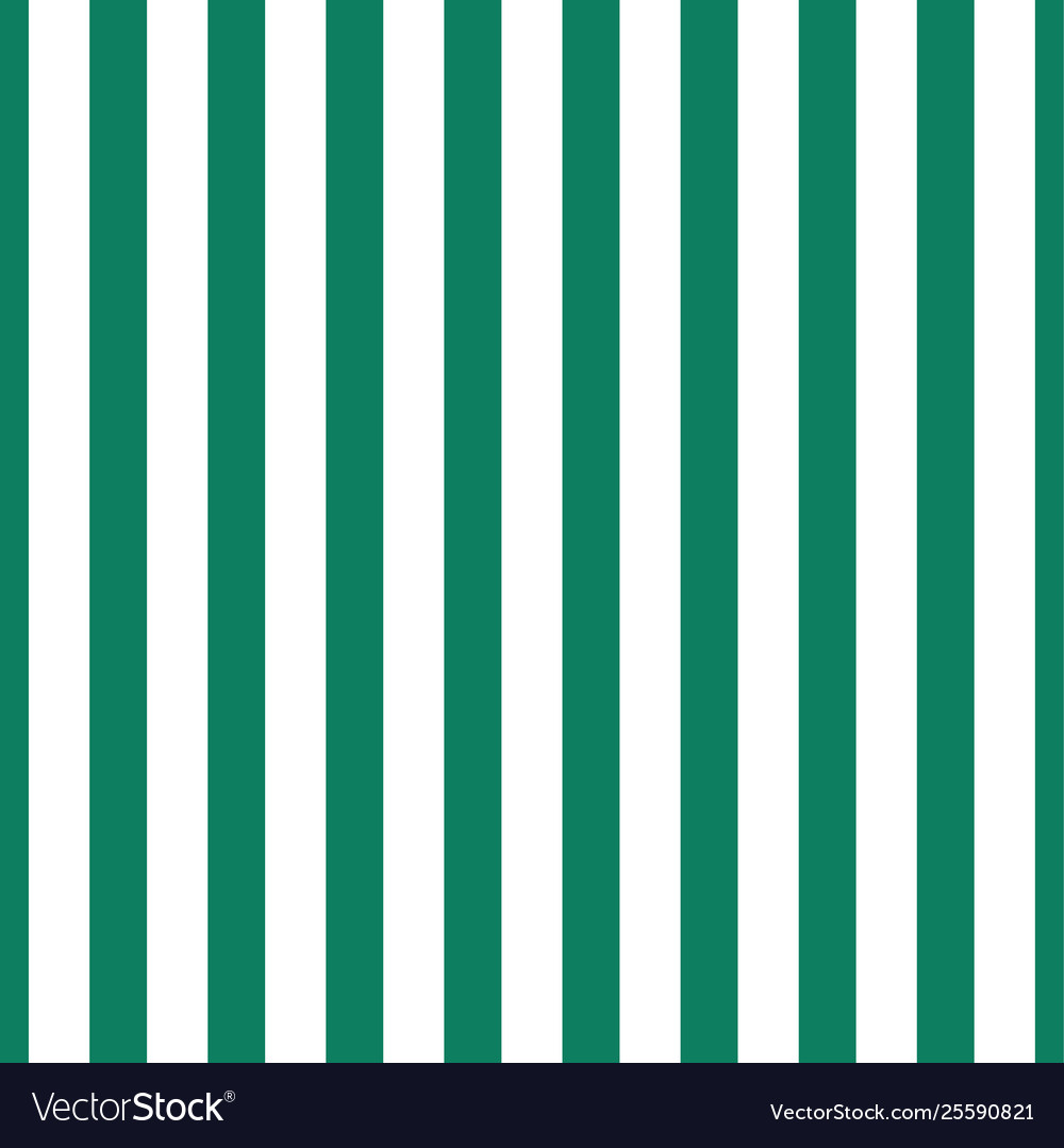 Pattern Green And White Vertical Stripe Seamless