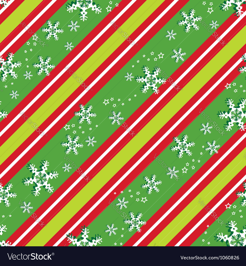 Seamless pattern in Christmas colors