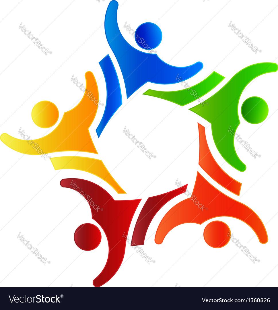 Winner Group people 4 Logo design element