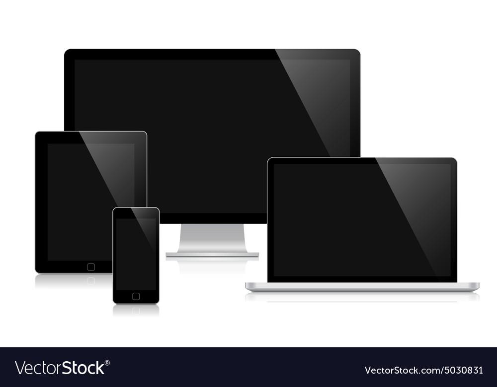 Ilustration for responsive web design