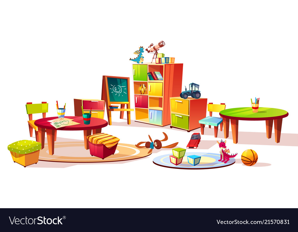 Kindergarten interior furniture