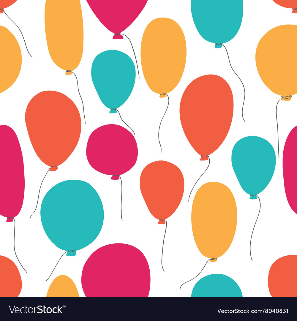 Party baloons pattern