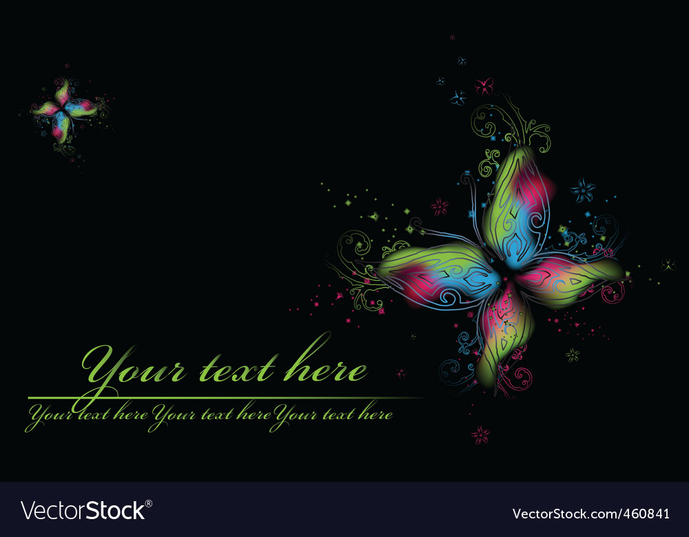 Beauty butterflies vector image