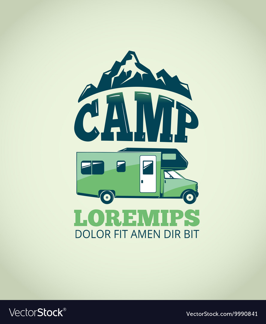 Camping wilderness adventure background