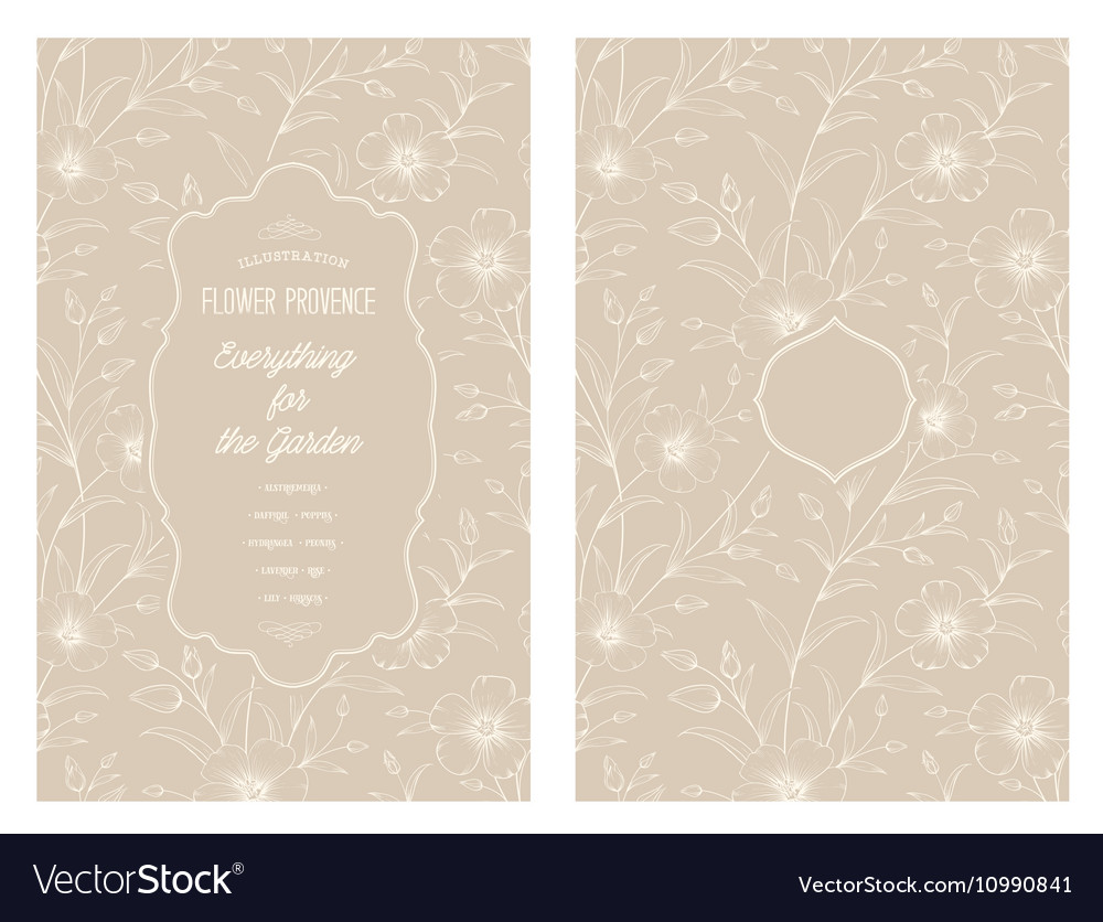 The Cherry blossom vector image