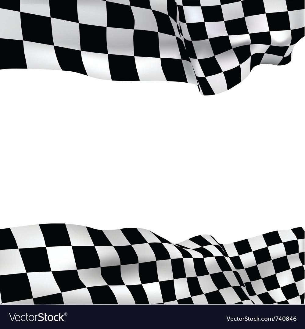 background checkered flag royalty free vector image rh vectorstock com checkered flag vector download checkered flag vector art