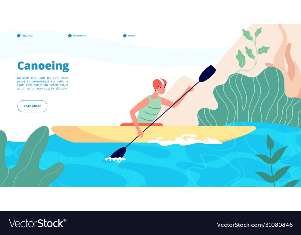 Canoeing and kayaking water sport website