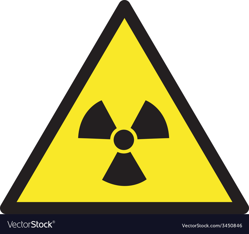 Danger Radioactive Safety Sign