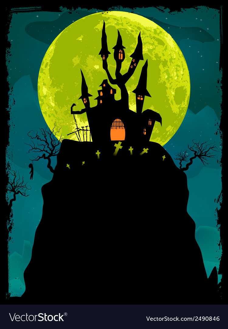 Halloween Poster Background Free.Halloween Poster Background Eps 8