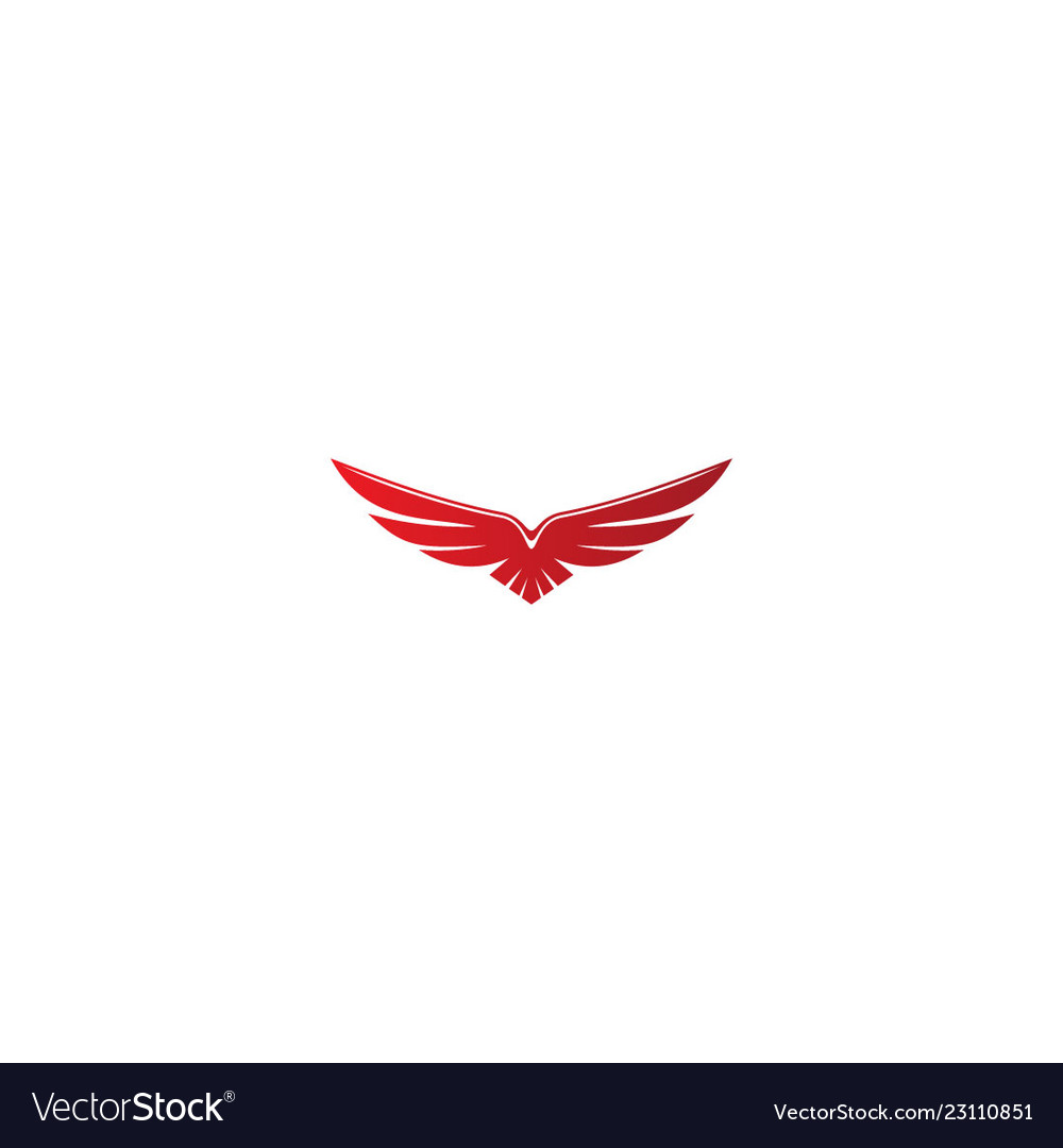 Eagle fly wing logo