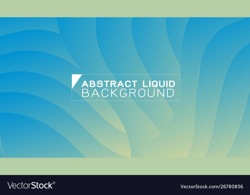 Abstract gradient liquid concept wavy background
