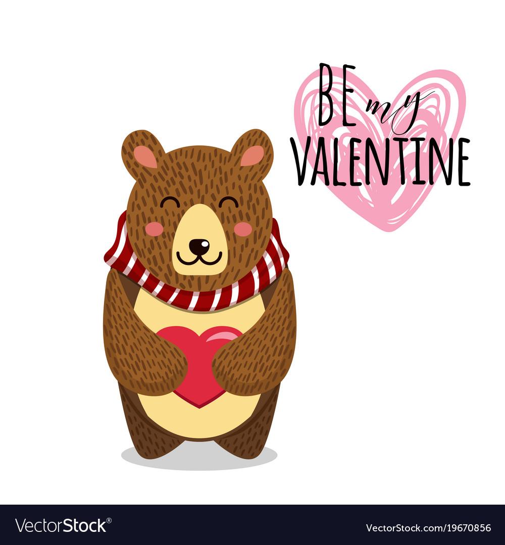 Cute toy teddy bear with