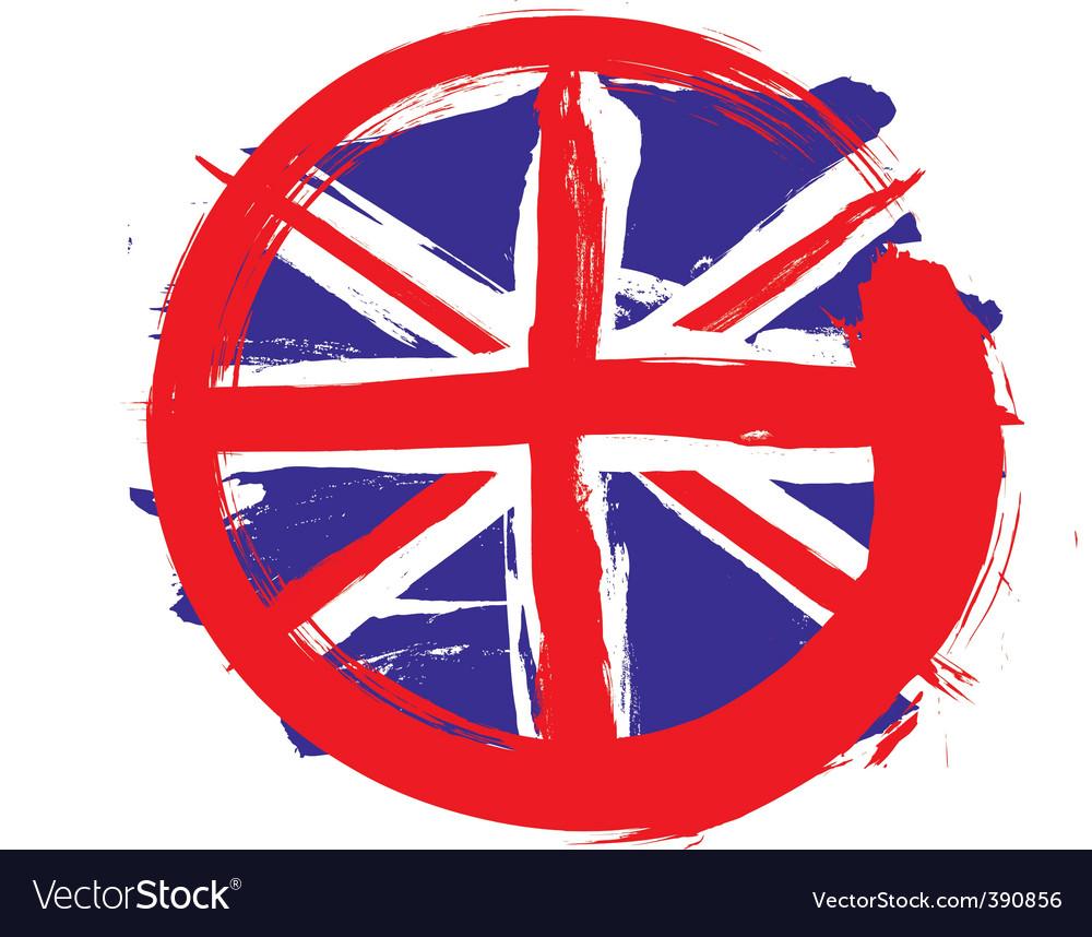 England circle flag