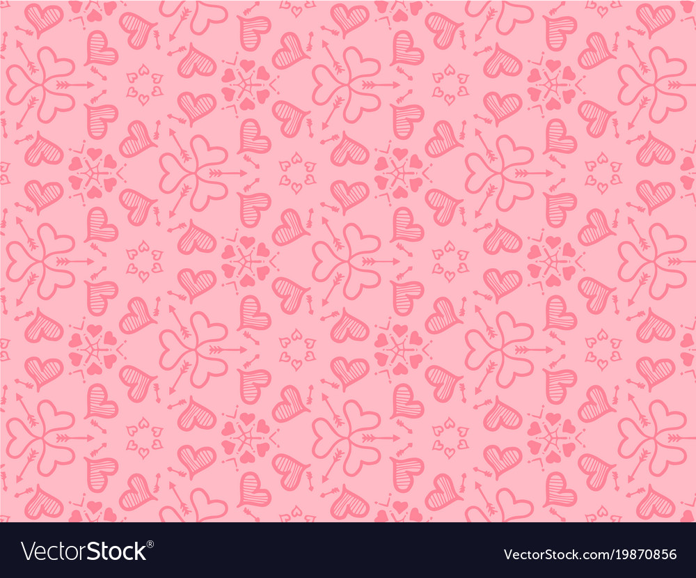 Hearts background for love