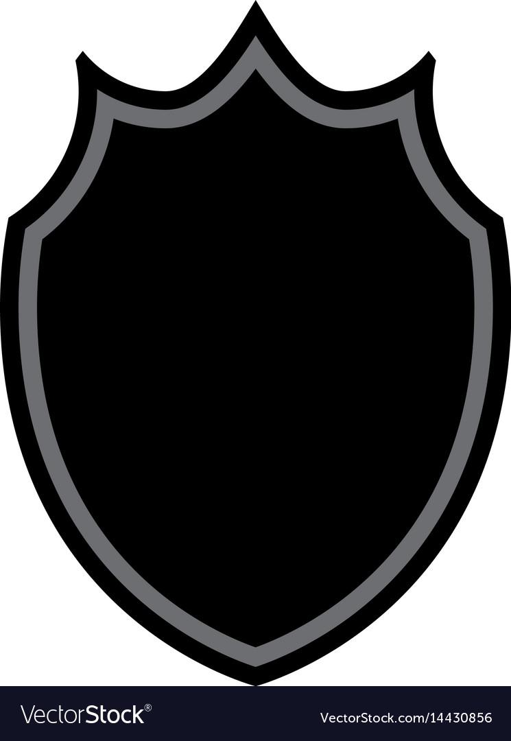 Shield shape icon