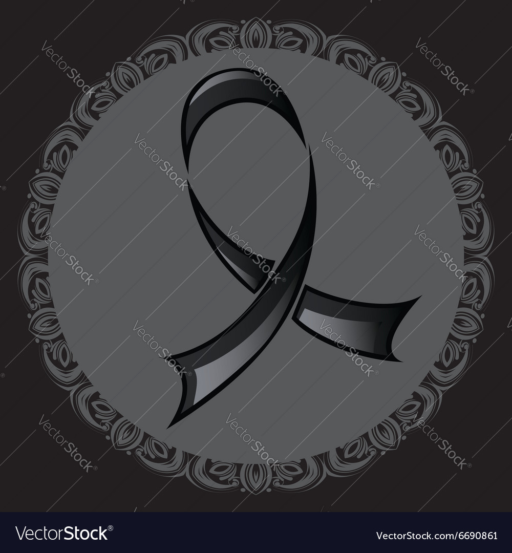 Black Ribbon Background2