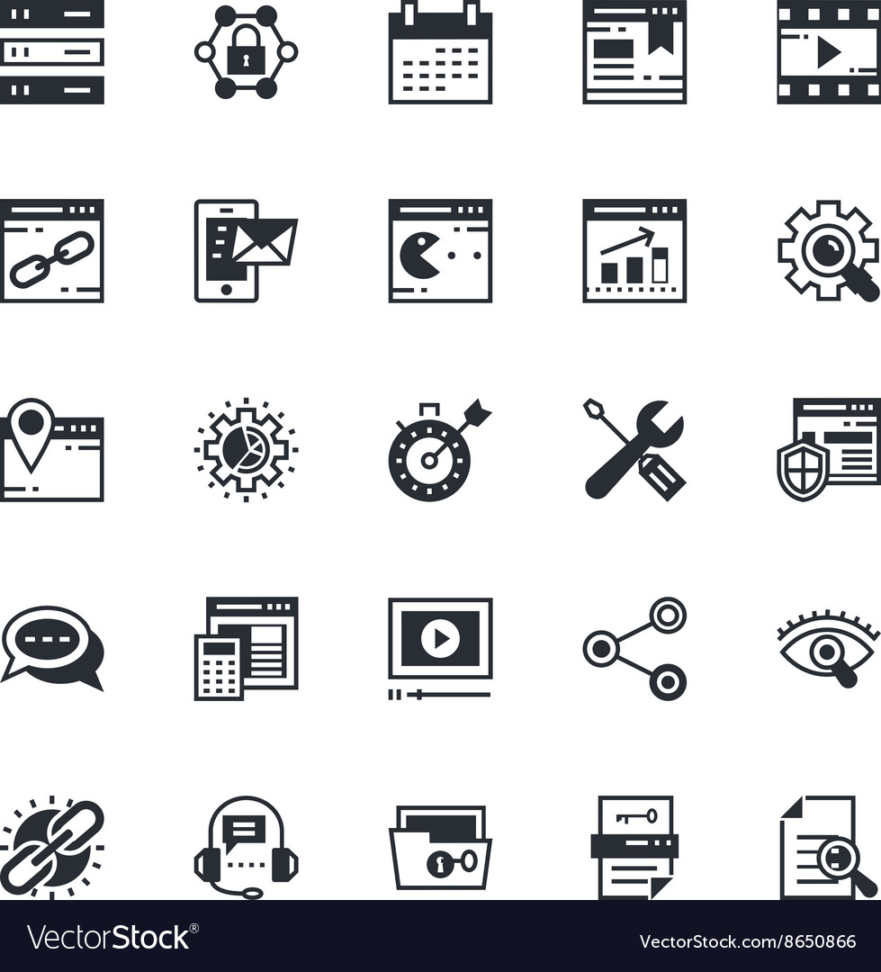SEO and Marketing Colored Icons 2