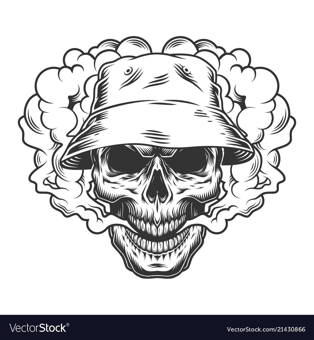 Vaper skull concept