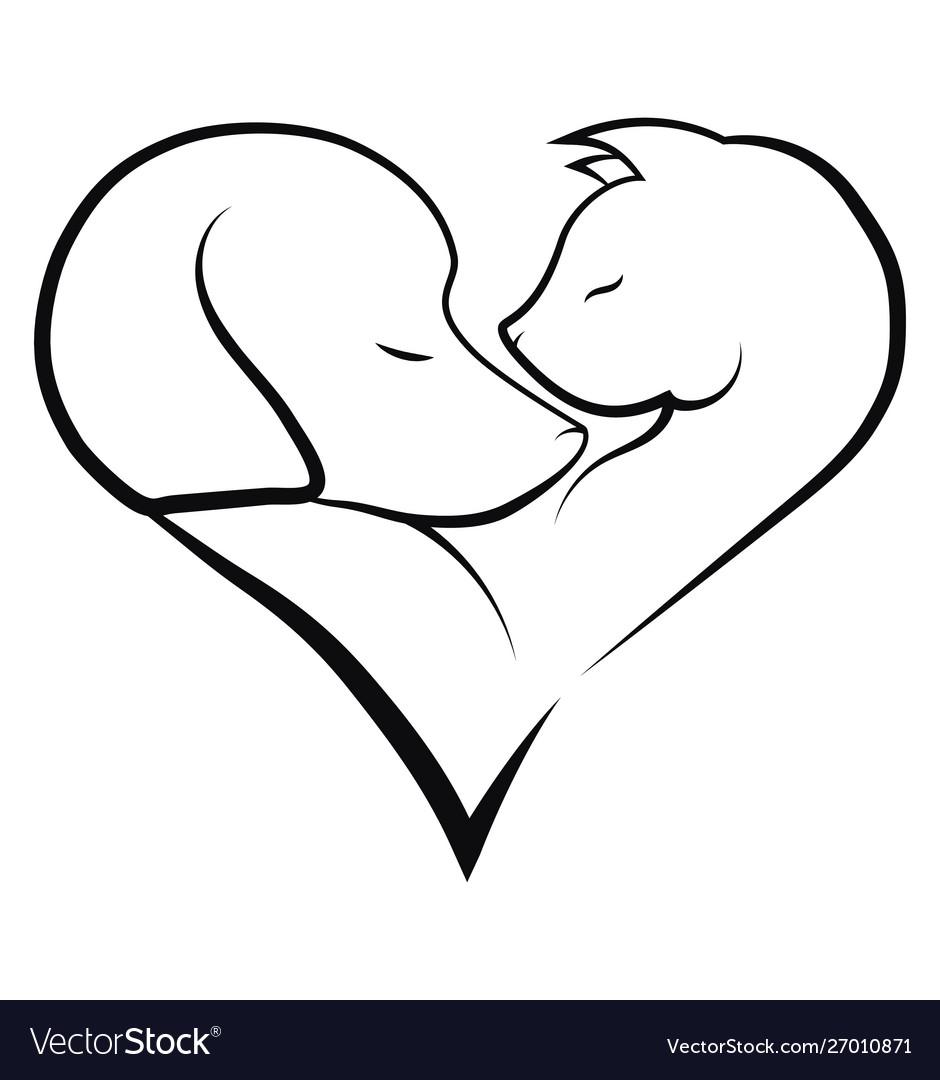 Veterinary logo for pet shop