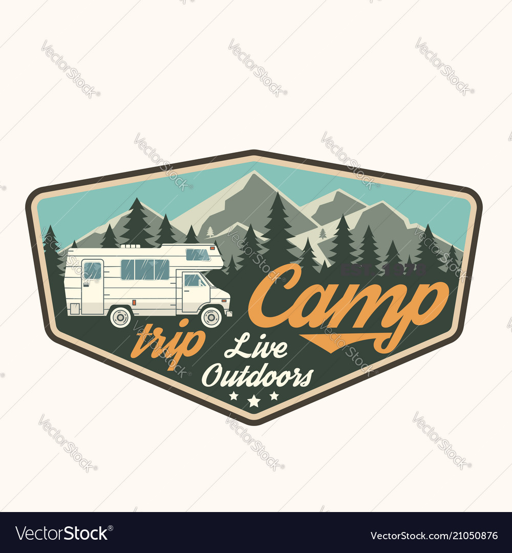 Camp trip live outdoors