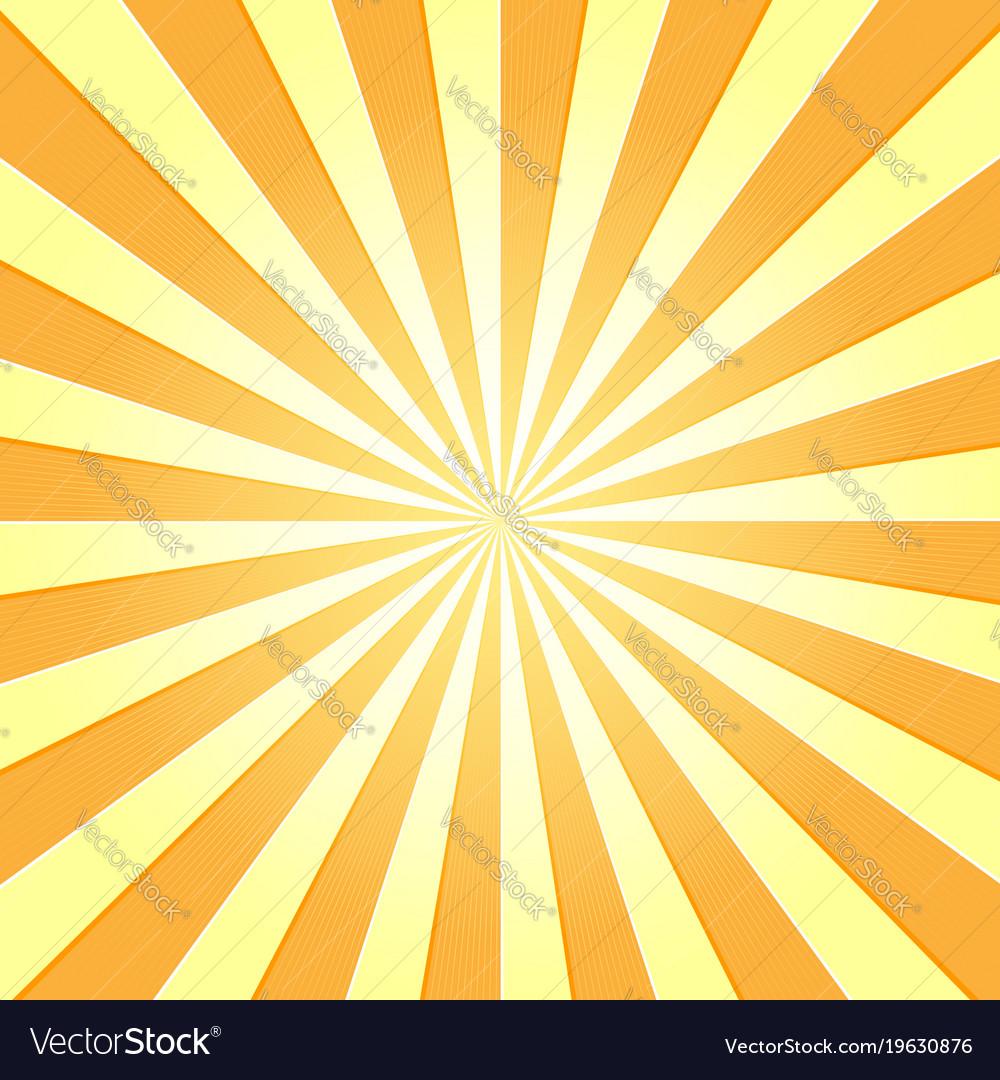 Sun with rays star burst television vintage