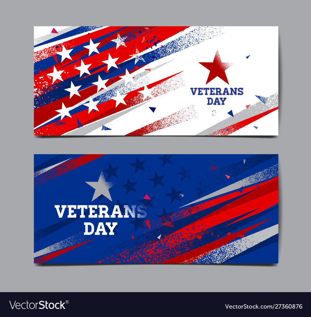 Veterans day background usa flag abstract
