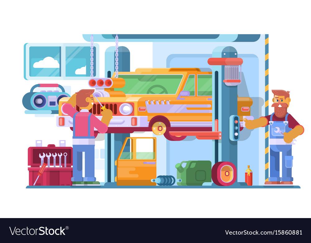 Auto Repair Nearby >> Auto Repair Service Auto Mechanic Near The Car