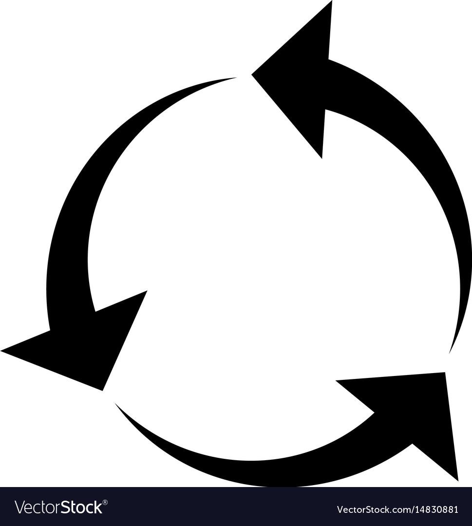 circular arrow - Parfu kaptanband co