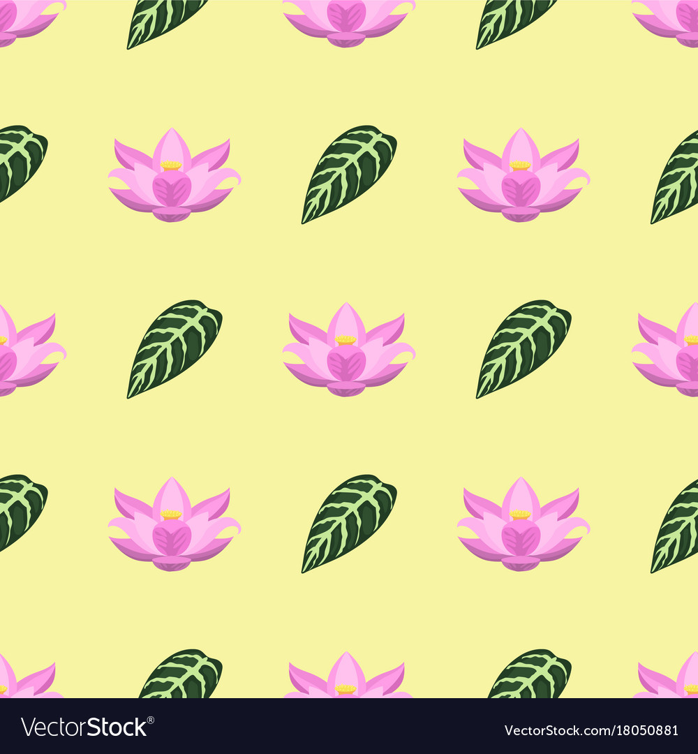 Tropical leaves summer green exotic seamless