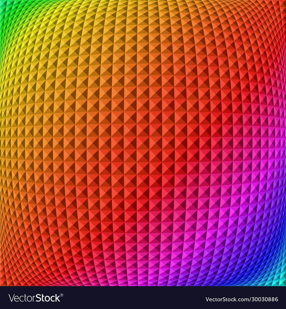 Colorful gradient illusion abstract background
