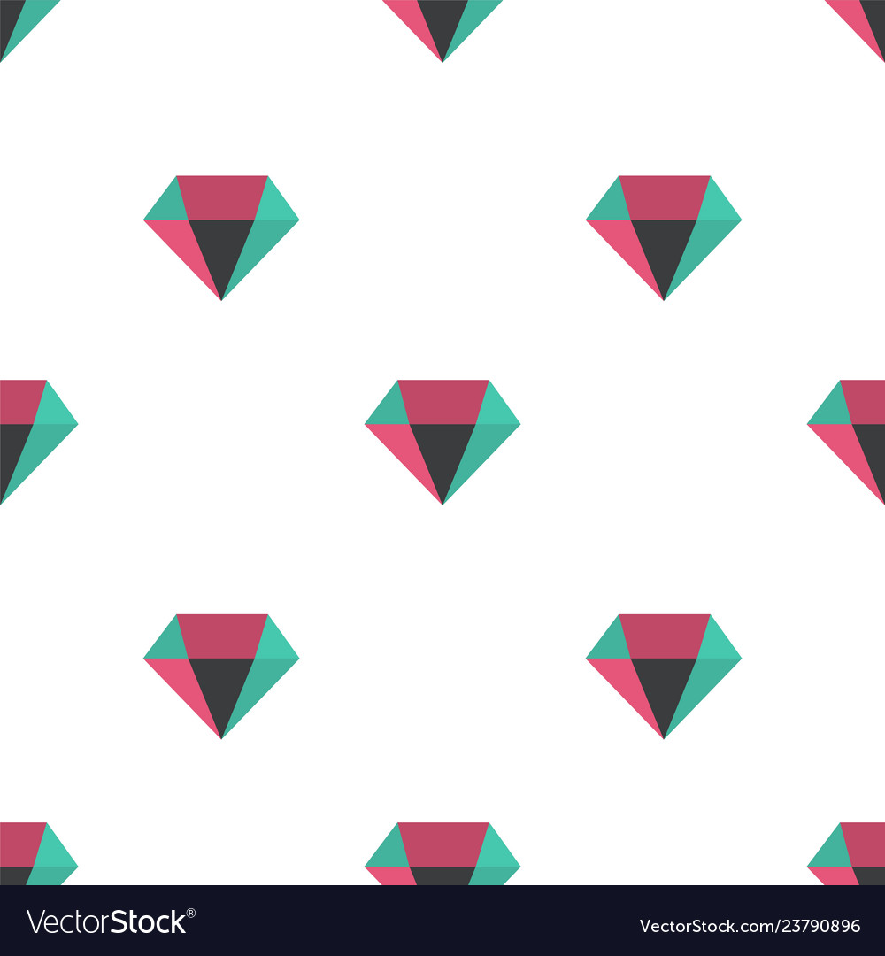 Diamond pattern seamless background