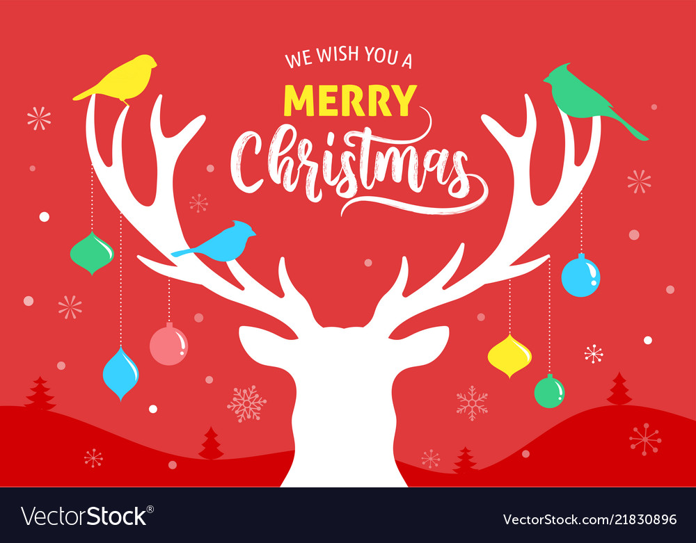 Merry christmas banner xmas template background